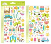 Sweet Summer Mini Icon Stickers - Doodlebug