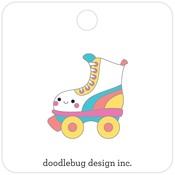 Let's Skate Collectible Pin - Doodlebug