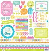 Sweet Summer This & That Sticker - Doodlebug