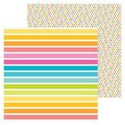 Cabana Stripe Paper - Sweet Summer - Doodlebug