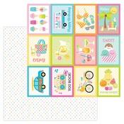 Summer Sprinkles Paper - Sweet Summer - Doodlebug - PRE ORDER