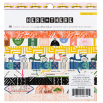 """Here & There 6"""" X 6"""" Single-Sided Paper Pad - Crate Paper"""
