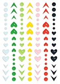 The Bright Side Puffy Stickers - Fancy Pants - PRE ORDER