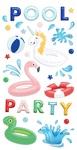 Poolside Puffy Stickers - Fancy Pants