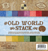 "Old World - DCWV Single-Sided Paper Stack 8""X8"" 48/Pkg"