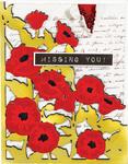 Poppies Pocket Card (A2) - Spellbinders Card Creator Die