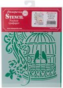 """Little Cage - Stamperia Stencil D 7.87""""X5.91"""""""