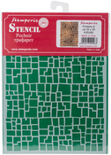 "Wall Effect - Stamperia Stencil D 7.87""X5.91"""