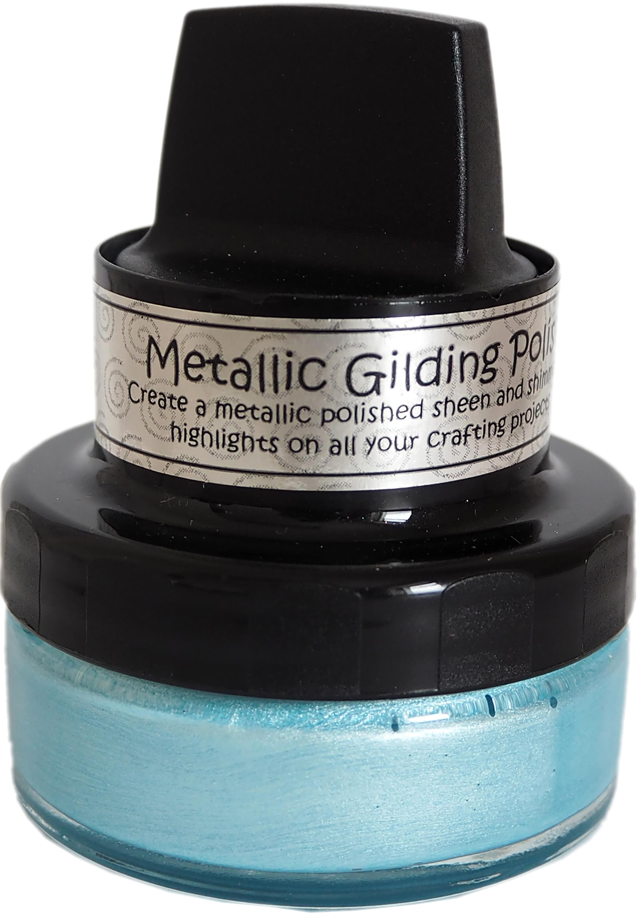 Powder Blue - Cosmic Shimmer Metallic Gilding Polish