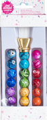 2 Piece Brush, 18 Beads - Jane Davenport Mixed Media 2 Beaded Brush Kit 20pc
