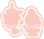 Figure Skaters - Stamping Bella Cut It Out Dies