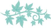"""Ivy Strip 3.25""""X1.75"""" - Kaisercraft Decorative Die"""