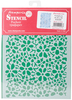 Old Lace Texture - Stamperia Stencil D 7.87 X5.91  This stencil can be used for decorating furniture, fabric, paper, canvas and scrapbooking. Made of a special material which makes them flexible but durable, it is thin enough to feature small details in the design. Perfect for a mixed media projects. This package contains one 7.875x5.75 inch stencil. Comes in a variety of designs. Each sold separately. Imported.