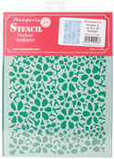 """Old Lace Texture - Stamperia Stencil D 7.87""""X5.91"""""""