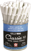 White - Gelly Roll Classic Bold Point Pens Cup 36/Pkg