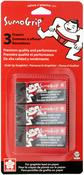 SumoGrip Premium Block Eraser B80 3/Pkg