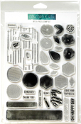 """Bits & Pieces - Concord & 9th Clear Stamps 6""""X8"""""""