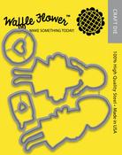 Little Baker - Waffle Flower Die