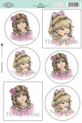 "Ella - Sugar Nellie Designs Topper Sheet 8.5""X12.2"""