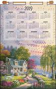 Cottage - Design Works 2019 Calendar Felt Applique Kit