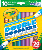 Crayola Dual-Ended Washable Double Doodlers Markers
