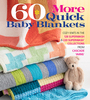 60 More Quick Baby Blankets - Sixth & Springs Books 60 More Quick Baby Blankets offers 60 projects with the trademark quality and unrivaled quantity that fans of the 60 Quick Knits series have come to expect. From simple-yet-impressive knit/purl patterns to cabling to intarsia to double-knitting and more, a range of techniques are employed throughout the collection to engage knitters of all skill levels. Whether knitting up whales in sail boats, a cushy cabled pattern, a cozy mermaid tail or bear wrap, or a chic strawberry gingham, one thing is certain, these blankets will be loved for years and years to come, first as an oft-used blanket and then as a family heirloom. Softcover, 184 pages. Published Year: 2017. ISBN 978-1-942021-89-6. Imported.