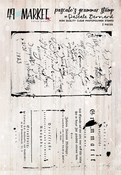 """Pascale's Grammer - 49 And Market Clear Stamps 3""""X4"""""""