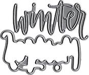 Hello Winter - Neat & Tangled Die