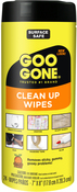 24 Wipes/Pkg - Goo Gone Clean Up Wipes