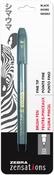 Black - Zebra Zensations Fine Tip Brush Pen