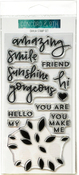 """Dahlia Turnabout - Concord & 9th Clear Stamps 6""""X6"""""""