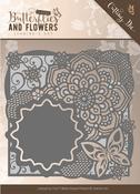 Butterfly Frame - Find It Jeanine's Art Classic Butterflies & Flowers Die