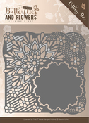 Flower Frame - Find It Jeanine's Art Classic Butterflies & Flowers Die