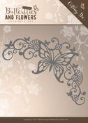 Butterfly Corner - Find It Jeanine's Art Classic Butterflies & Flowers Die