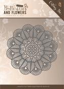 Doily - Find It Jeanine's Art Classic Butterflies & Flowers Die