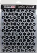 "Polka Dots - Darkroom Door Stencil 9""X12"""