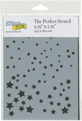 "A7 Twinkle - Crafter's Workshop Perfect Stencils 5.25""X7.25"""