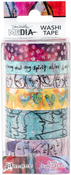 #1-6 Rolls - Dina Wakley Media Washi Tape