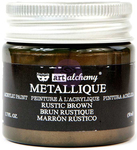 Metallique Rustic Brown Paint - Prima