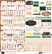 Good Life 12x12 Sticker Sheet - Websters Pages