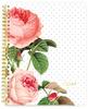 Spiral Notebook - Floral Undated Planner - Websters Pages