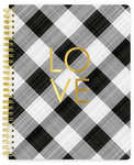 Spiral Notebook - LOVE Blank Planner - Websters Pages