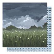Fireflies in the Garden Paper - Twilight - 1Canoe2