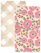 Flower & Wood Traveler Notebooks - Websters Pages