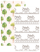 House & Tree Traveler Notebooks - Websters Pages