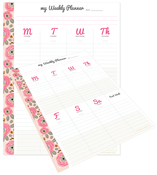 My Happy Place Weekly Tear Away Pages - Websters Pages