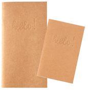 Kraft Blank Standard Notebook - Websters Pages