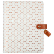 Copper Hexagon A5 Composition Planner - Websters Pages