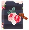 Black Floral A5 Binder Only - Websters Pages