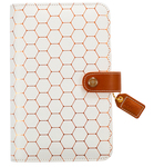 Copper Hexagon Binder